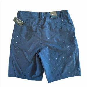 Kenneth Cole Shorts - Kenneth Cole New York Printed Tech Cargo Shorts d4